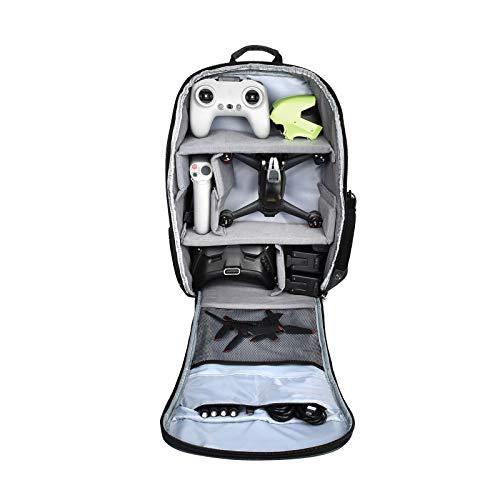 Drohne Handtasche Kompatibel mit DJI FPV Combo Drone Tragetasche wasserdichte Schultertasche Tasche Tragekoffer Bag für Batterien, Fernbedienung, Propeller, Ladegerät Zubehör