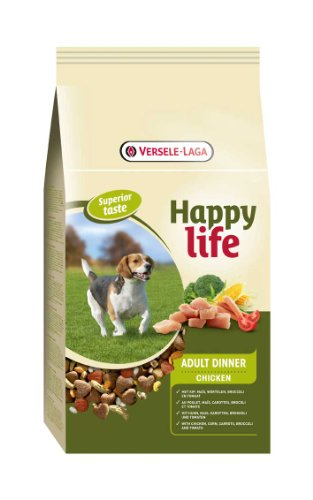 3 KG Happy life adult chicken diner hondenvoer