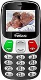 YINGTAI T47 2G Teléfono Móvil para Personas Mayores con Teclas Grandes, Gran Pantalla 2.4', SOS...