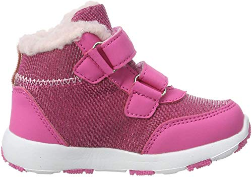 KangaROOS Snowdrifter Unisex Baby Sneaker, Violett (Daisy Pink/Frost Pink 6151), 26 EU