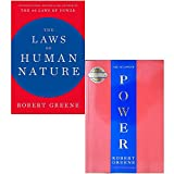 Robert Greene 2 Books Collection Set (The Laws of Human Nature, The 48 Laws Of Power)