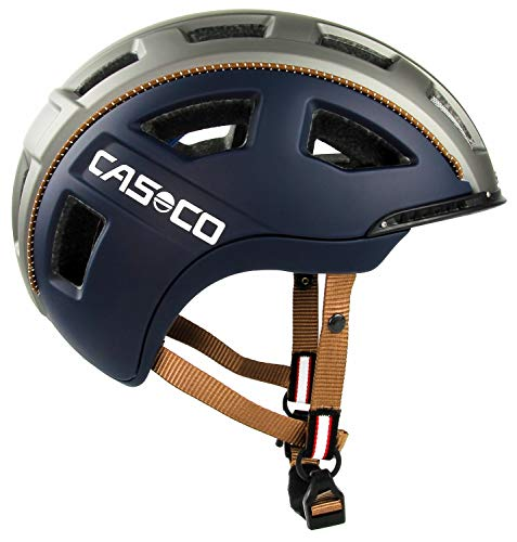 Casco Fahrradhelm e.motion navy casual matt Gr. L (58-62cm)