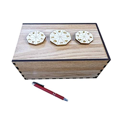 STARGAZER PUZZLE BOX - MAGNETIC PUZZLE BOX FOR ESCAPE ROOMS