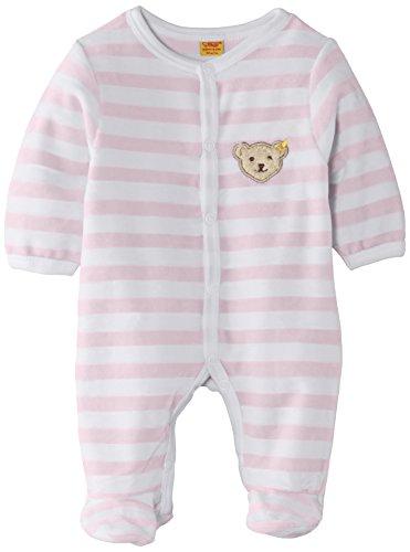 Steiff Collection Steiff Unisex - Baby Strampler, Rosa (Barely Pink), 56