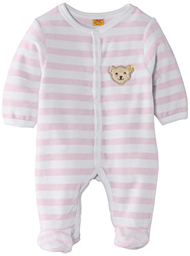 Steiff Collection Steiff Unisex - Baby Strampler, Rosa (Barely Pink), 56