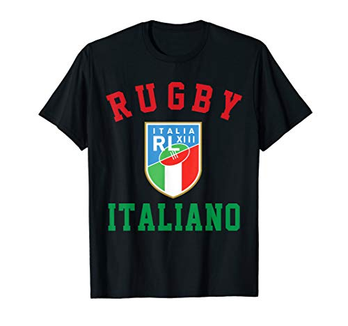 Italien Rugby Trikot T-Shirt