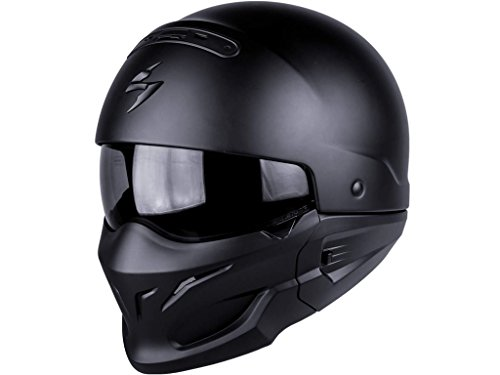Scorpion Casco Moto EXO-COMBAT, Matt Black, S