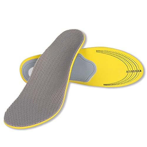 YWSZJ Hombres Mujeres Pulseras Transpirables Plantillas Ortopédicas Pisos Planos Pie Orthotic Arch Support Plantillas High Arch Shoe Pad Blisole (Size : 35-40)