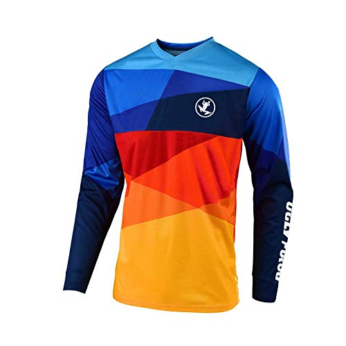 Uglyfrog 2018-2019 Neueste Jersey Mountain Bike Motocross Downhill Enduro Cross Motorrad MTB Shirt Herren Long Sleeve Spring Style