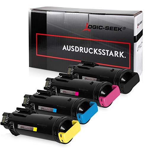 4 Logic-Seek Toner kompatibel mit Xerox Phaser 6510DN 6510DNI 6510N 6510 WorkCentre 6515DN 6515DNI 6515N
