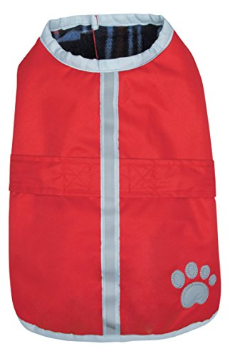 Zack & Zoey Nor'Easter Blanket Coat, X-Large, Red