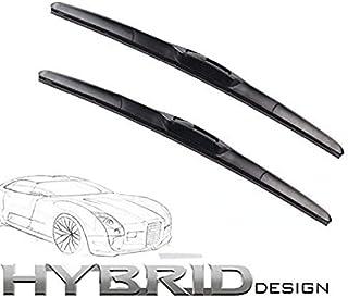 530mm 450mm HYBRID FLEX 2x Front Scheibenwischer Premium Qualität Wischerblätter Scheibenwischerblätter Satz STARKE ANPRESSKRAFT