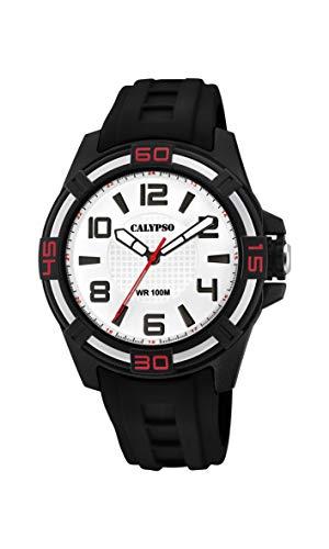 Calypso Watches Reloj Analógico para Unisex Adultos de Cuarzo con Correa en Plástico K5760/1