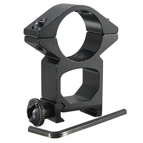 Bazaar 25mm High Profile Ring Geltungsbereich Weaver Schiene Mount 20mm Picatinny Für Taschenlampe