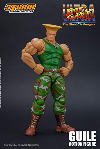 Street Fighter II Guile Storm Collectibles 1:12 Action Figur - ST