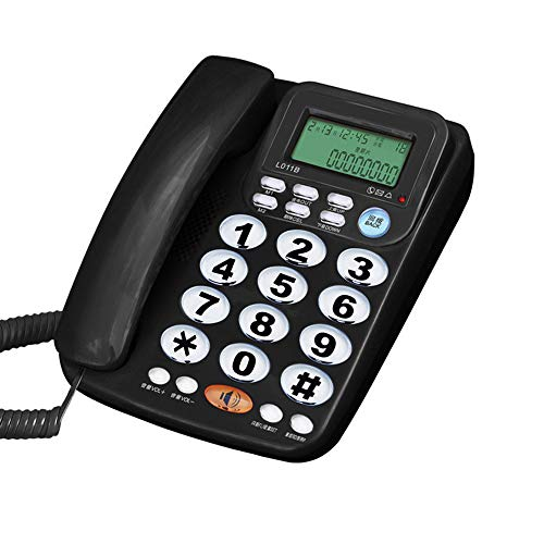 TelPal Corded Big Button Telephone for Elderly Caller ID Landline Phones for Seniors Amplified Telefonos Home Phone for Old People with Speaker and Easy to Read Numbers…