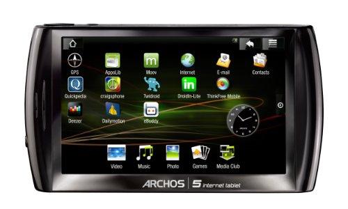 Archos 5 Internet Tablet WI-FI 16GB Netbook