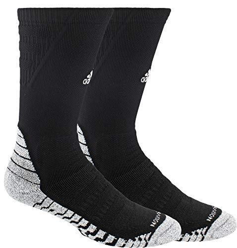 adidas Alphaskin Traxion Maximum Cushioned Crew Socks (1-Pack)