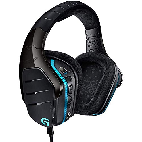 MQW Gaming Headset For PS4, PC, Xbox One, Isolation Du Bruit Ambiant Casque Audio Avec Micro, LED, 7.1 Canaux Gaming Casque, Basse Surround, Mémoire Douce Earmuffs For Ordinateur Portable Mac Nintendo