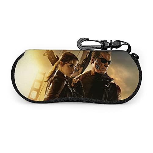 Gafas caso suave bolsa ultra ligera moda personalidad cinturón cartera mosquetón gafas de sol hombres mujeres niños