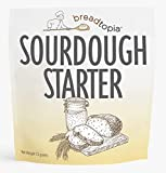 Breadtopia Sourdough Starter (Dry) | Made from Organic & Non-GMO Ingredients | Easy to Follow Instructions | Make Homemade Sourdough Bread | Sour Dough Starter Dried |