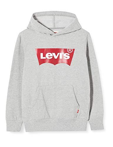 Levis Kids Lvb Batwing Screenprint Hoodie Pulls Garçon Gris