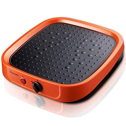 MMYYIP Voetwarmer, elektrische verwarming thuis verwarmingsthermostaat enkel bakken voor voetmassage nemen
