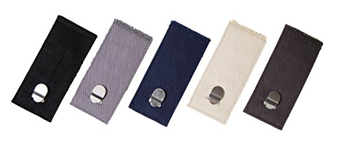 Comfy Clothiers - Hook & Clasp Waist Extenders for Pants, Shorts, and Skirts (5-Pack) - http://coolthings.us