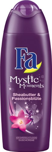 Fa Mystic Moments Duschcreme, Sheabutter & Passionsblüte, 6er Pack (6 x 250 ml)