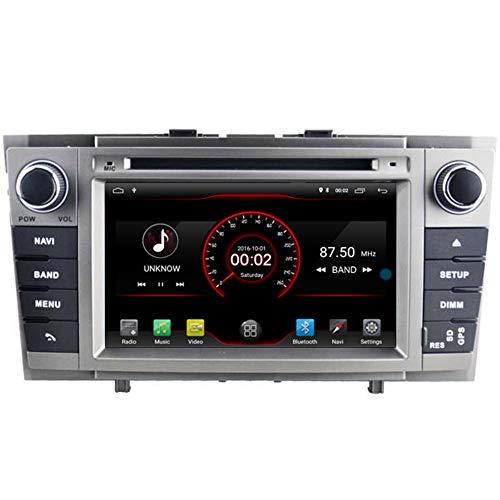 Autosion Lecteur DVD de voiture Android 10 GPS stéréo radio multimédia Wifi pour Toyota Avensis T270 2009 2010 2011 2012 2013 2014 Prise en charge du volant