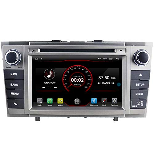 Autosion Android 10 Auto DVD-Player GPS Stereo Headunit Navi Radio Multimedia Wifi für Toyota Avensis T270 2009 2010 2011 2012 2013 2014 Unterstützung Lenkradsteuerung