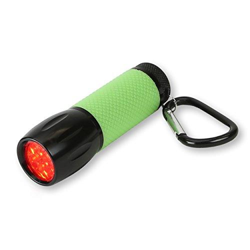 Carson RedSight Pro Linterna con Luz LED Roja (2 Configuraciones de Brillo) (Deportes)