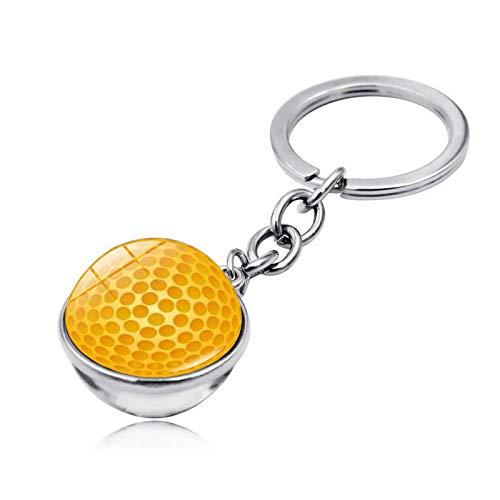 Bosi General Merchandise Golfbälle, Zeitedelsteine, doppelseitige Glaskugeln, Schlüsselanhänger, kreative Geschenke