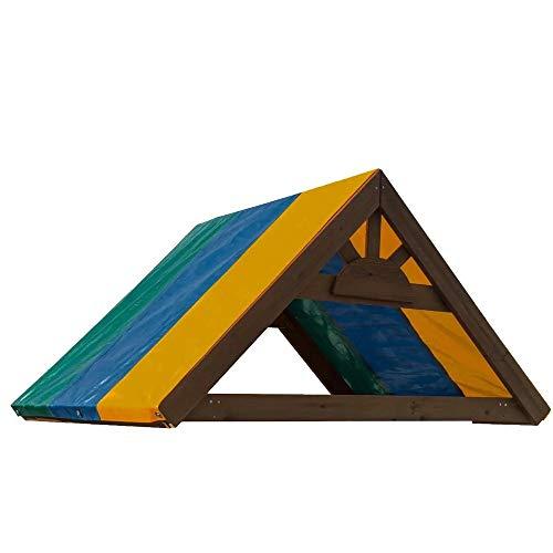 Couvertures Meubles de jardin Jardin Protecteur Swingset ombre Aire de jeux Canopy Couverture Swing-N-Slide Tarp toit Rabattre le capot étanche Housse étanche ( Color : Blue , Size : One size )