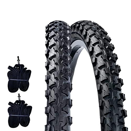 DSI 2 COPERTONI MTB 26 x 1.90 (50-559) + CAMERE Pneumatici Mountain Bike TASSELLATI Bici Bicicletta