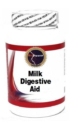 Milk Digestive Aid 60 Capsules # BioPower Nutrition