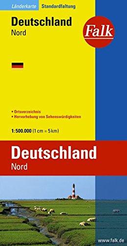 Duitsland Noord autokaart