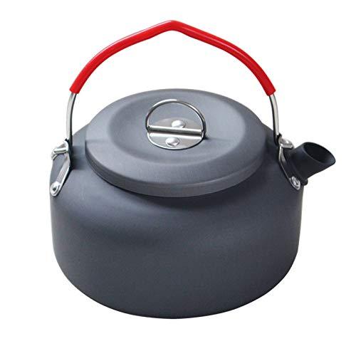 SNATCH 0.8l Outdoor Camping Coffee Pot Tea Kettle Water Kettle Portable Aluminum Outdoor Picnic Tea Kettle