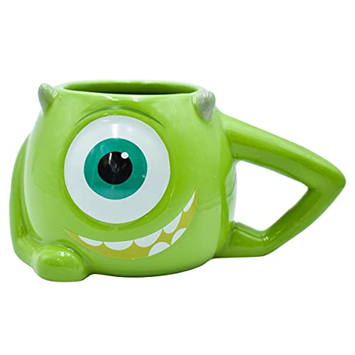 Fun Kids 2415-3529 Taza Cafe De Ceramica Disney Mike Wazowski Monsters Inc 11oz (325 ml)