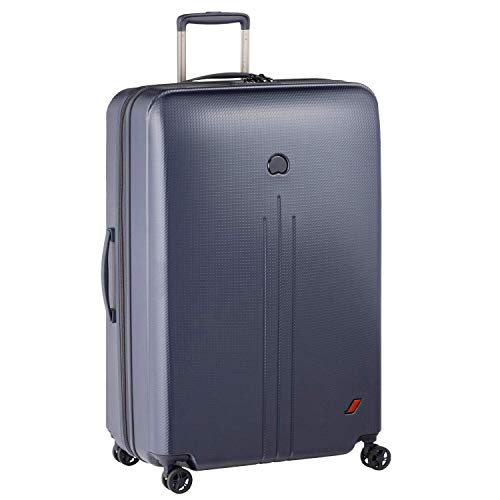 DELSEY(デルセー) スーツケース sサイズ 機内持ち込み キャリーケース mサイズ/lサイズ 軽量 大型 100%PC素材 軽量 NEW ENVOL 5年間保証 109L&ブルー