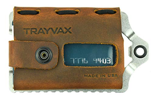 Trayvax Element Wallet (Raw | Tobacco Brown)