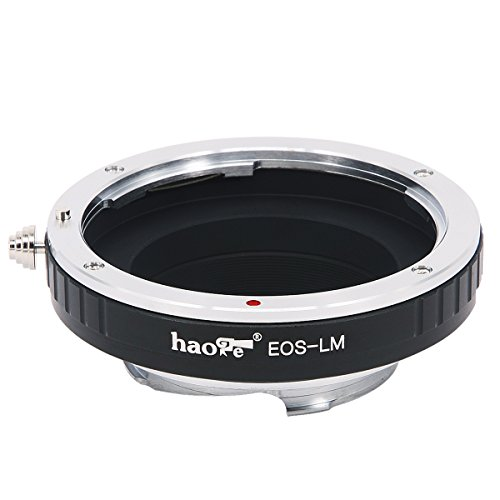Haogeレンズマウントアダプタfor Canon EOS EFレンズto Leica m-mountカメラなどm240、m240p、m262、m3、m2、m1、CL、m4、m5、m6、MP、m7、m8、m9、m9-p、M Monochrom、m-e、M、