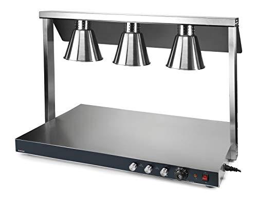 Lacor 69563 Calentador de buffet, Plata
