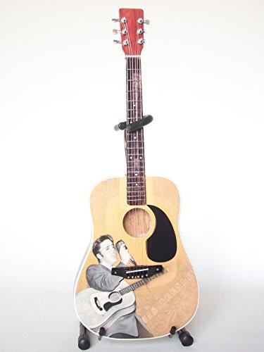 Hacha HEAVEN Elvis Presley miniatura coleccionable de guitarra acústica–EP360