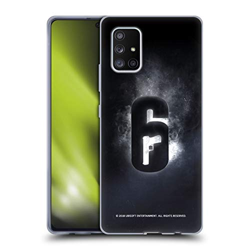Head Case Designs Officially Licensed Tom Clancy's Rainbow Six Siege Glow Logos Soft Gel Case Compatible with Samsung Galaxy A71 5G (2020)