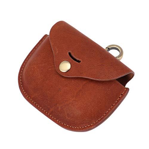 Hemobllo Capa protetora para fone de ouvido compatível com Sony wf-1000xm3 – Bolsa protetora de couro para fone de ouvido de couro italiano sem fio, 1 conjunto