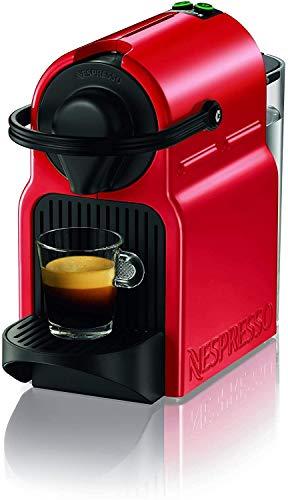 Nespresso Inissia Macchina per caffé espresso, a capsule, 1260 W, 0.7 L, Rosso (Ruby Red)