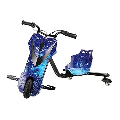 CCCYT 360 Vehículo eléctrico Drifter Derrapador eléctrico Moto Triciclo 20km de autonomía