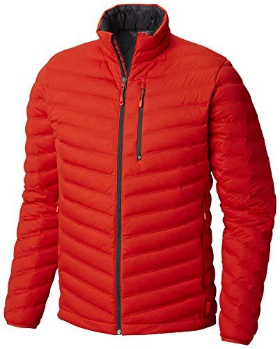 Mountain Hardwear MENS STRETCHDOWN JACKET FIERY RED (SMALL)