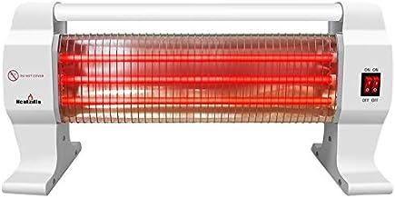 Heatzilla SY·CLQ10-Calefactor de Cuarzo 3 Niveles de Potencia, Blanco, 400/800/1200W